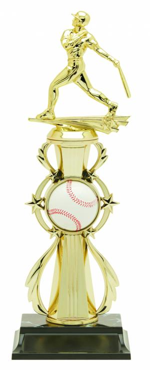 Baseball Color Riser Trophy